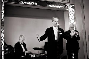 Greg Poppleton & his Bakelite Dance Band, 1920s & 1930s jazz & swing music for your wedding, corporate function or party. Featuring Greg Poppleton, Sydney's only 1920s & 1930s singer.