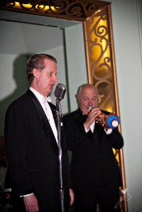 Bob Barnard - trumpet with Greg Poppleton and the Bakelite Broadcasters at the Carrington, Katoomba