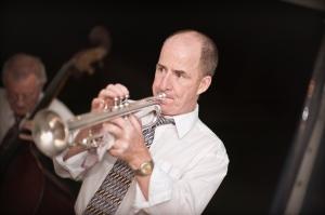 Al Davey, jazz trumpet and trombone with Greg Poppleton & his Bakelite Dance Band