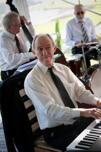 Peter Locke, jazz and swing piano with Greg Poppleton and his Bakelite Dance Band