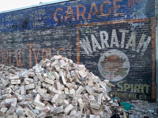 1911 Garage Wall Ad - King St, Newtown