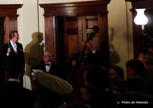 Greg Poppleton filled the dance floor