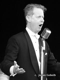 Greg Poppleton 1920s Orchestra Singer