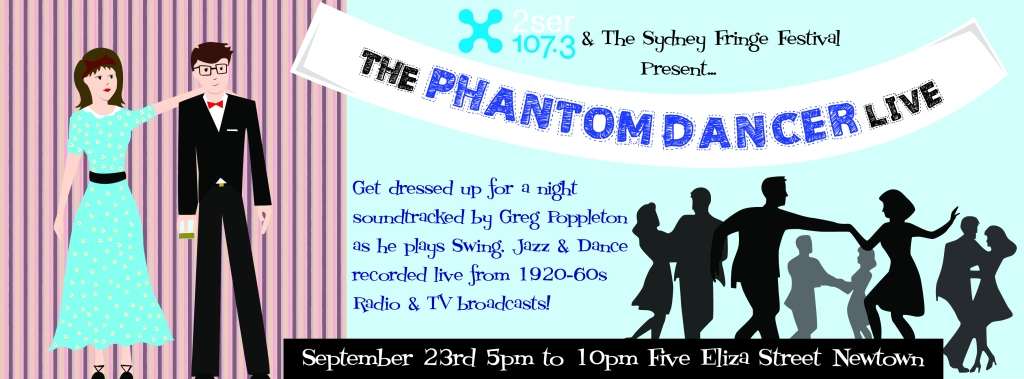 Come to Phantom Dancer Live at FIVE Eliza, Newtown, Sun 23 Sep 12