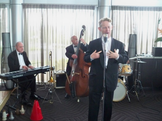 Greg Poppleton, 1920s and 1930s Swing Singer with duo to sextet at Rocksalt Bar and Grill