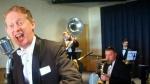 Greg Poppleton, Sydney's only authentic 1920s jazz dance band singer