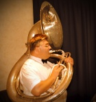 Rod Herbert, sousaphone, The Lounge Bar Lotharios