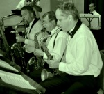 Saxes and clarinets, The Lounge Bar Lotharios (l-r) Richard Booth, Paul Furniss, David Horniblow