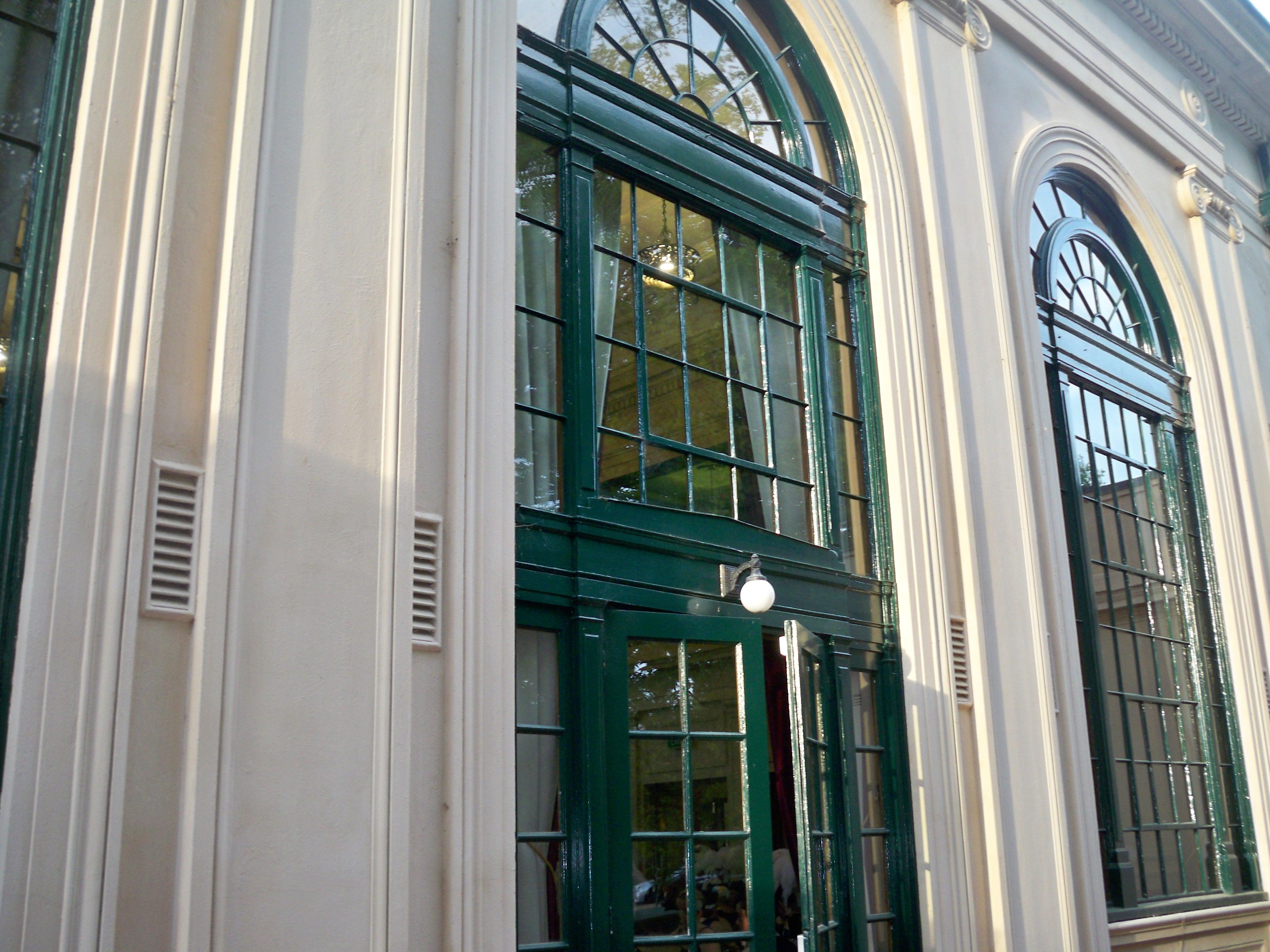 Albert Hall, south facing wal