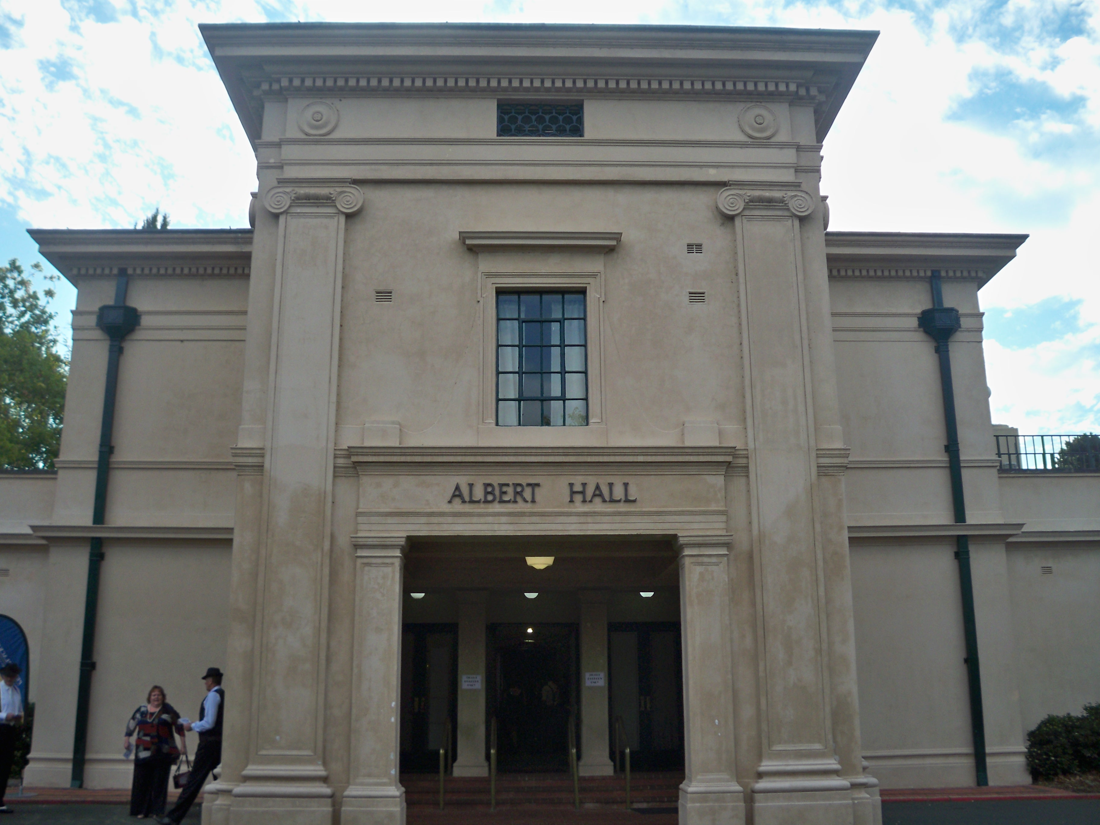 Albert Hall Front Entrance