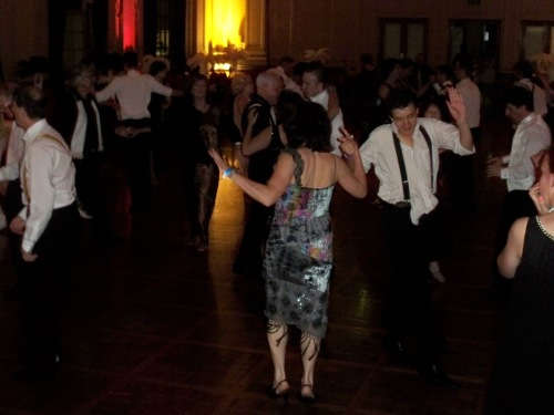 Dancing into the early morning at the Albert Hall to the Sydney's 1920s Great Gatsby Dance Orchestra, The Lounge Bar Lotharios