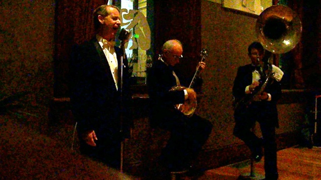Greg Poppleton and the Bakelite Broadcasters Trio for a 30th Birthday at the ArtHouse
