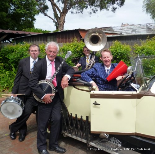 Greg Poppleton and the Bakelite Broadcasters - Sydney's 1920s Speakeasy Trio - Sextet