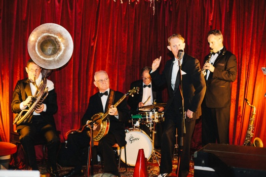 Greg Poppleton and the Bakelite Dance Band Voh-De-Oh-Doh at a 1920s Corporate Party