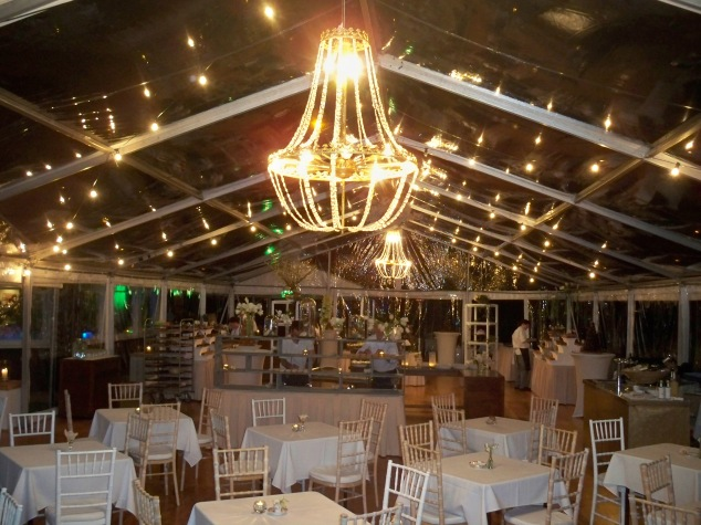The room, before the 1100 guests arrived