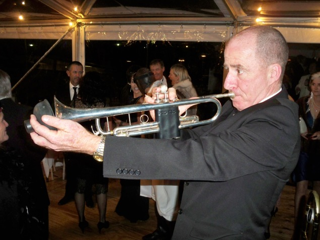 Al Davey, trumpet and trombone