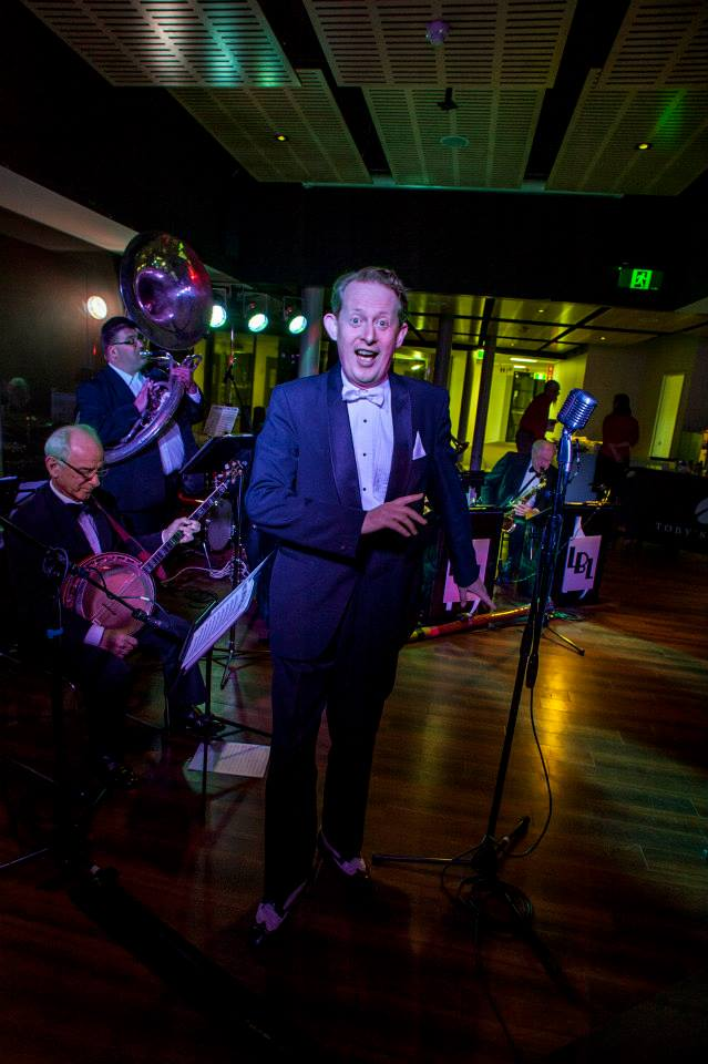 Greg Poppleton - Sydney's only authentic 1920s singer with The Lounge Bar Lotharios