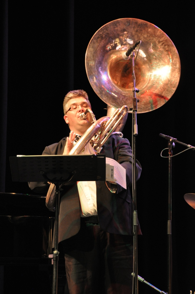 Rod Herbert, sousaphone