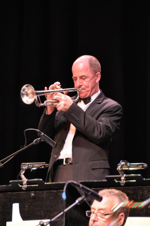 Al Davey, trumpet