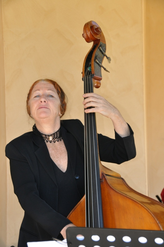 Fiona Lugg - double bass