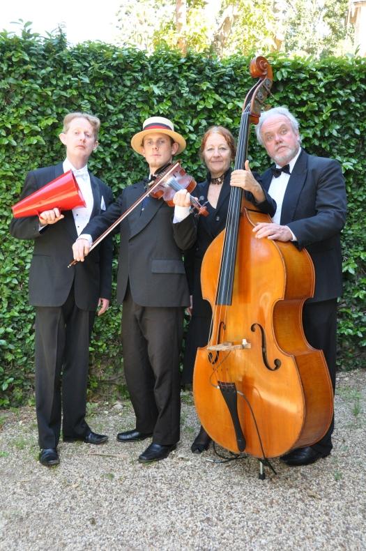 The Po-Faced Four - Edwardian Quartet, Vaucluse House