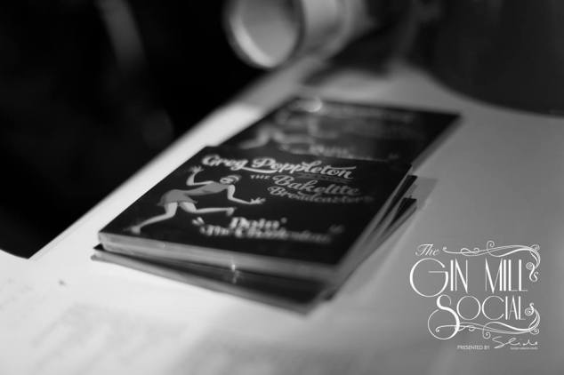 The latest Greg Poppleton and the Bakelite Broadcasters CD, 'Doin' The Charleston'