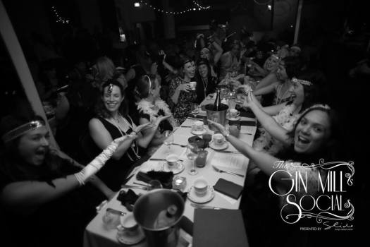 Having fun at the Gin Mill Social 1920s Cabaret