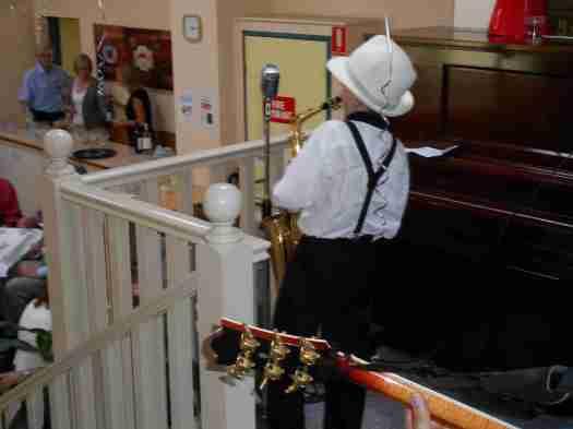 11 year old Damon on alto sax