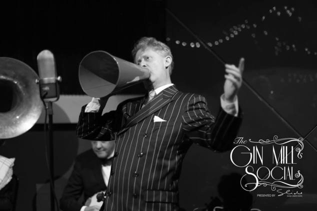 Sydney's only authentic 1920s singer at the Gin Mill Social