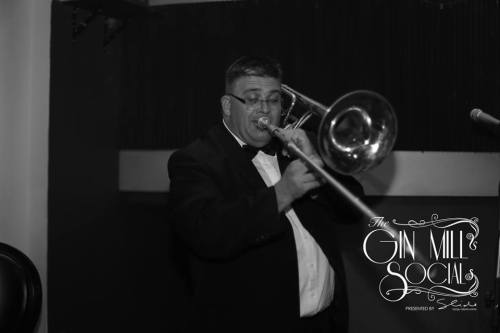 Rod Herbert, bass trombone and sousaphone