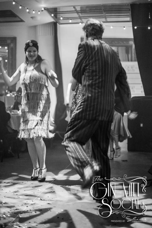 Dancing the Charleston to Greg Poppleton and the Bakelite Broadcasters