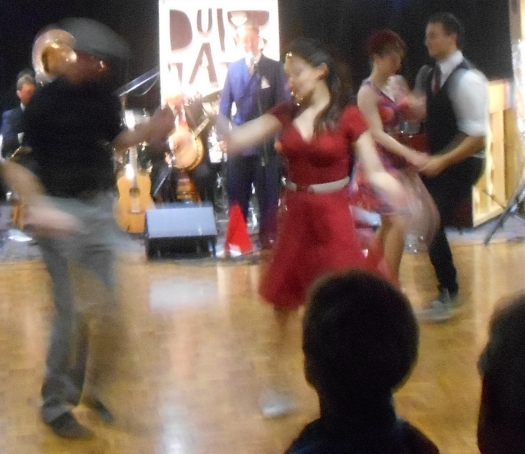 Dancing to Greg Poppleton and the Bakelite Broadcasters at Club Dubbo