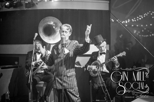 Greg Poppleton is Australia's only authentic 1920s - 1930s singer. He doesn't put on a funny voice. He's never sung in an American accent. It's just true, musical and straight from the heart.
