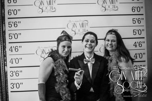 It's the 1920s at the Gin Mill Social