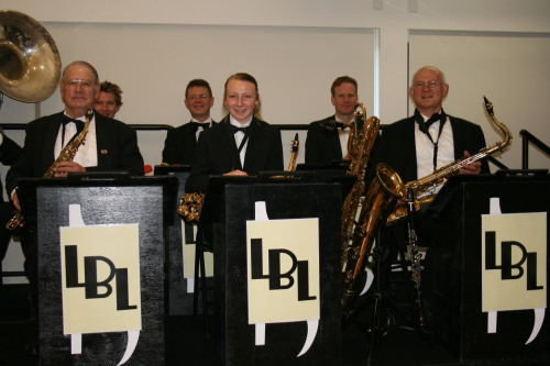 Brass and reeds section - The Lounge Bar Lotharios
