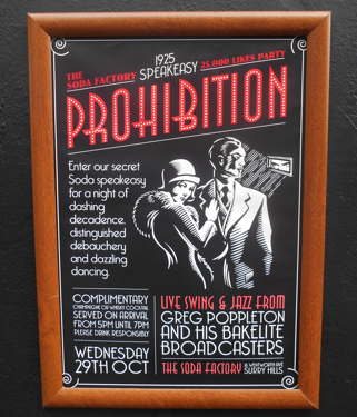 Greg Poppleton and the Bakelite Broadcasters at the Soda Factory - 29 October 7:30-10:30pm