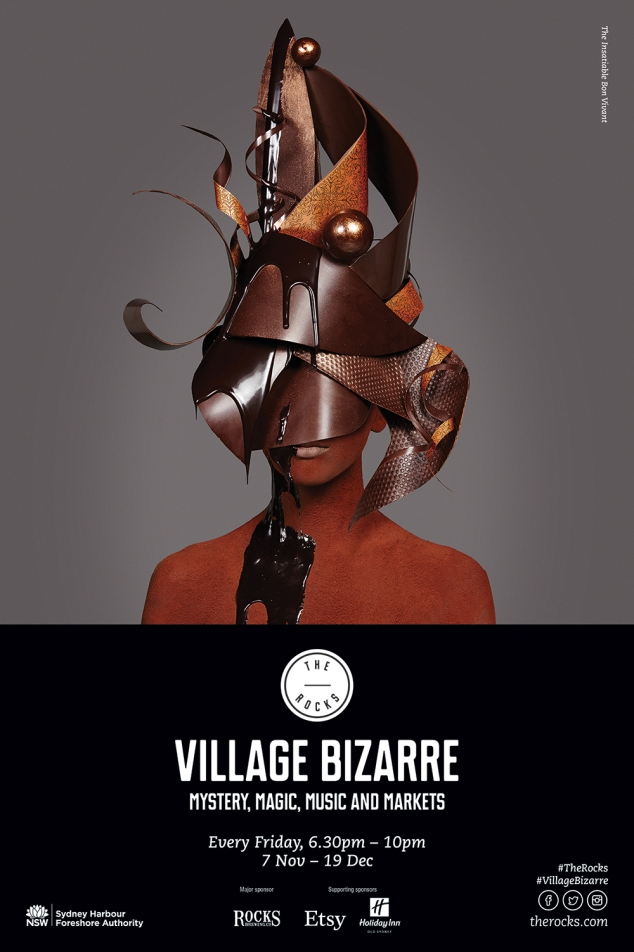 The Rocks Village Bizarre - The Insatiable Bon Vivant
