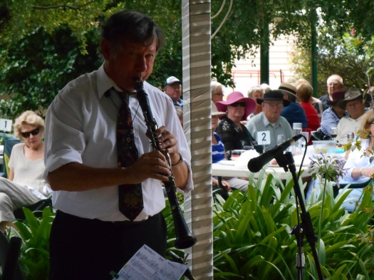 Paul Furniss, clarinet, soprano and alto sax.