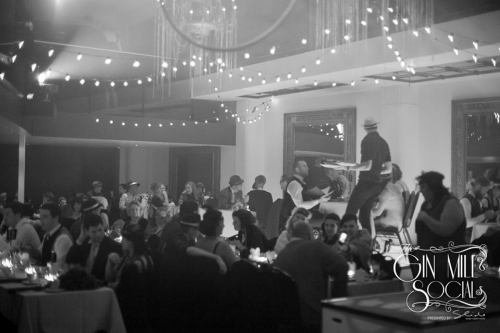 Where else can you go in Sydney to dress up in a dinner suit and a gown and feel you belong? Only at the Gin Mill Social.