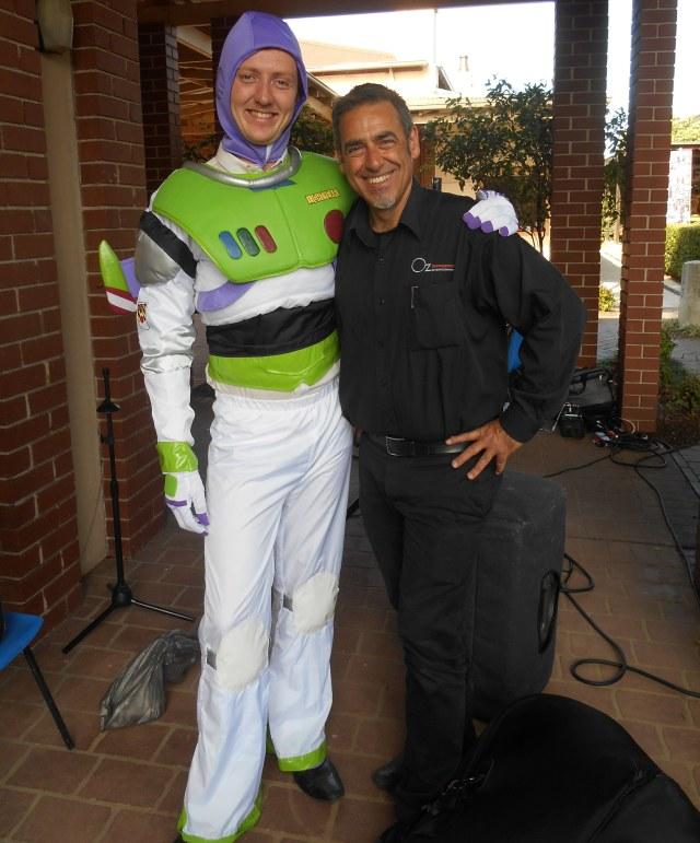 Greg Buzz Lightyear and Tony