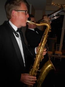 Ben Jones sax, Todd Hardy, trumpet