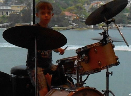 Flynn Poppleton jazz drums
