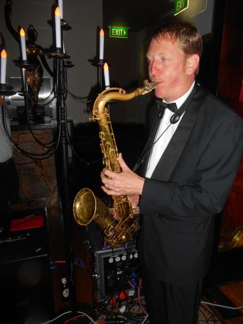 Ben Jones doubling sax
