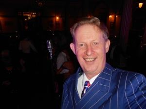 Greg Poppleton, authentic 1930s singer and Bakelite Broadcasters band leader