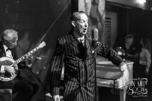 Greg Poppleton is Australia's only authentic 1920s singer.