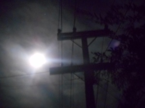 Moon over Waiheke