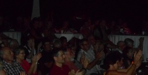 The Artworks Theatre audience