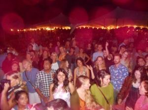 I took a snap from the stage as I was chatting inbetween songs.