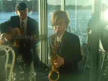 alto sax guitar jazz duo