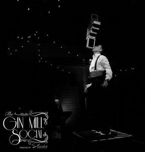 Mr Gorski, juggler extraordinaire